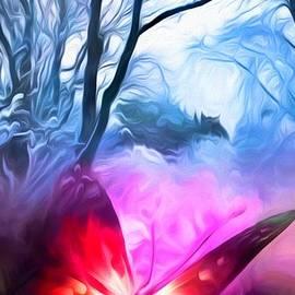 Butterfly Dreams In Winter by Debra Lynch