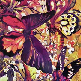 Butterfly Garden by Susan Maxwell Schmidt