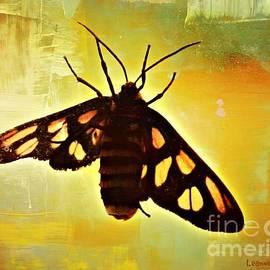 Butterfly On Windowpane by Leanne Seymour