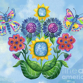 Butterfly Playground on a Summer Day by Shelley Wallace Ylst
