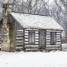 Cabin In The Snow by Jennifer White