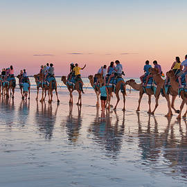 Cable Beach Sunset Colours by Jan Fijolek