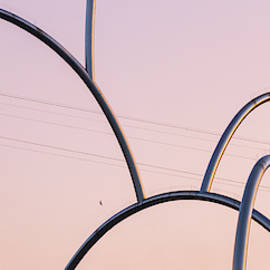 Cable railway and metal structure by Victor Vega
