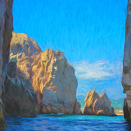 Cabo Arch Painterly