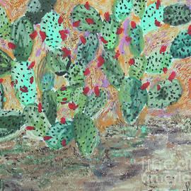 Cactus flowers by Pallavi Sharma