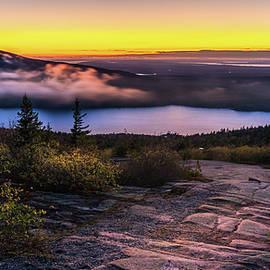 Cadillac Mountain after sundown by Alexey Stiop