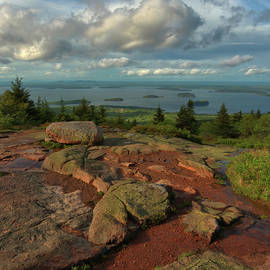 Cadillac Mountain Afternoon Light by Stephen Vecchiotti