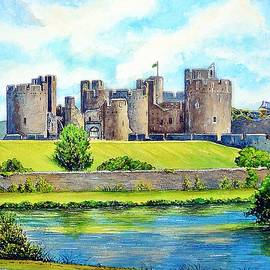 Caerphilly Castle version 2 by Andrew Read