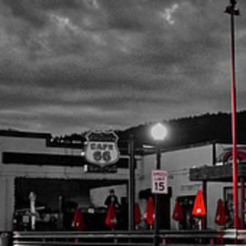 Cafe 66 on Route 66, Williams, AZ by David Thompson