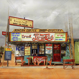 Cafe - Corpus Christi TX - Keen Hamburgers 1939 by Mike Savad