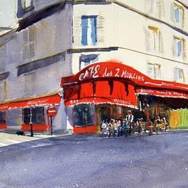 Cafe De Deux Moulins by James Nyika