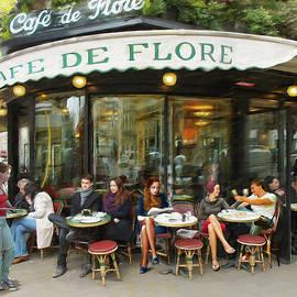 Cafe De Flore in Paris by Dominique Amendola