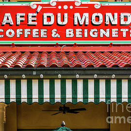 Cafe Du Monde Coffee and Beignets by Kathleen K Parker