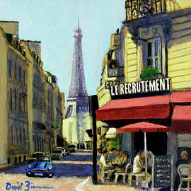 Cafe Le Recrutement by David Zimmerman