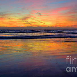 California Colors 42x72 Inch Xl Acrylic Print by John F Tsumas