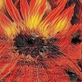 California On Fire by PainterArtist FIN