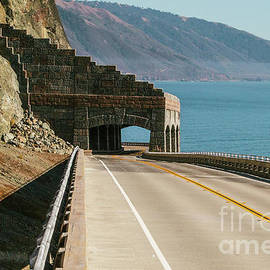 California's PCH Tunnel Big Sur by Scott Pellegrin