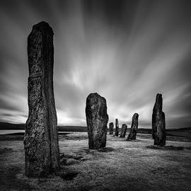 Callanish Stones 2 by Dave Bowman