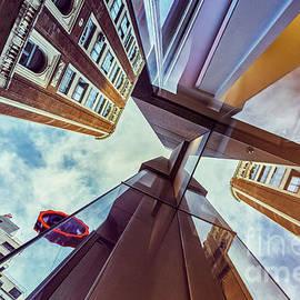Callao Building Reflections by Facto Foto