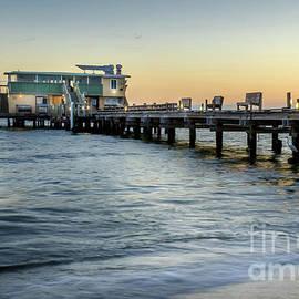 Calm Morning at Rod and Reel Pier, Anna Maria Island, Florida by Liesl Walsh