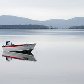 Calm Wallis Lakes Forster 01 by Kevin Chippindall