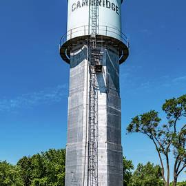 Cambridge Water Tower by Randy Scherkenbach