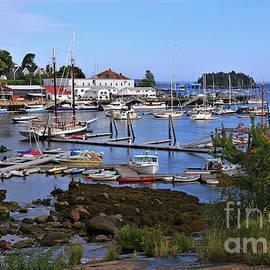 Camden Harbor Maine