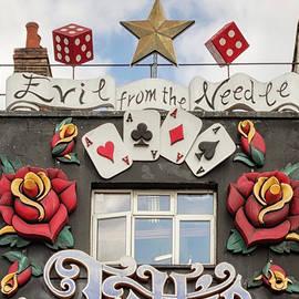 Camden Town  Street Art  6 by Shirley Mitchell