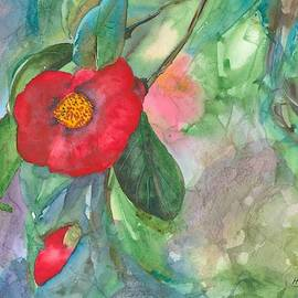 Camellia in Light by Hiroko Stumpf