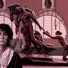 Camille Claudel's Atonement Painting by Paul Meijering