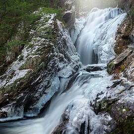 Campbell Falls Winter portrait by Bill Wakeley