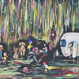 Camping Fun Camper by Patty Donoghue