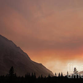 Canadian Rockies Fire by Norma Brandsberg