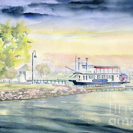 Canandaigua Lake  by Melly Terpening