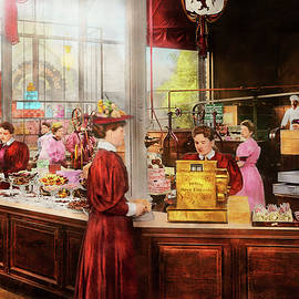 Candy - Store - The future of chocolate 1895 by Mike Savad