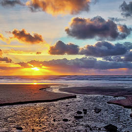 Cannon Beach Sunset by Loyd Towe Photography
