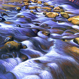Canyon Stream, Gently Flowing Water