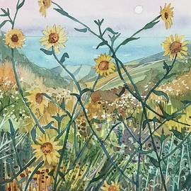 Canyon Sunflowers by Luisa Millicent