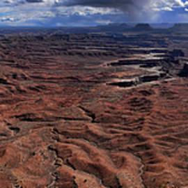 Canyonlands 17 by Peter-Michael Von der Goltz