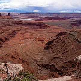 Canyonlands Amphitheatre 2 by Peter-Michael Von der Goltz