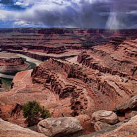 Canyonlands 3 Dead Horse Point  by Peter-Michael Von der Goltz