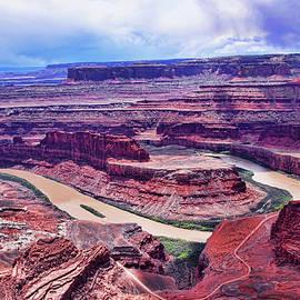 Canyonlands, island in the sky, Utah by Peter-Michael Von der Goltz