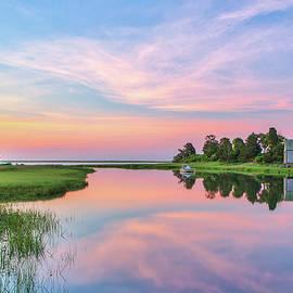 Cape Cod Nauset Marsh at Salt Pond Bay by Juergen Roth