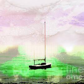 Cape Cod Sailboat by Anthony Ellis