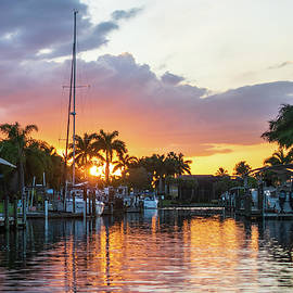 Cape Coral Sunset by Mary Ann Artz