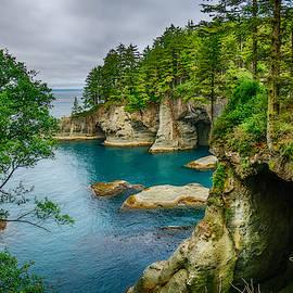 Cape Flattery Cave by Amanda Jones