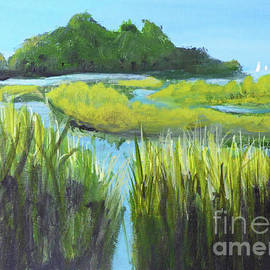 Cape Marsh by Sharon Williams Eng