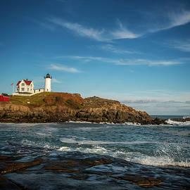 Cape Neddick Nubble Lighthouse  by Rosette Doyle