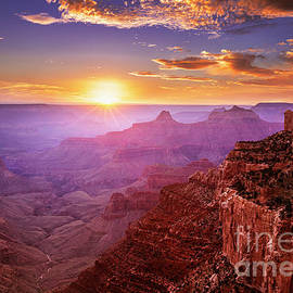 Cape Royal Sunset 2, Grand Canyon National Park, Arizona, USA by Neale And Judith Clark