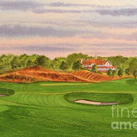 Capitol Hill Golf Course Alabama Senator Hole #3 by Bill Holkham